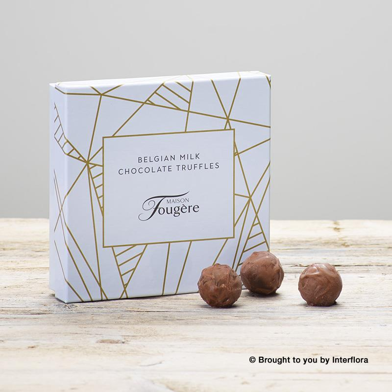 Belgian Milk Chocolate Truffles box of 12