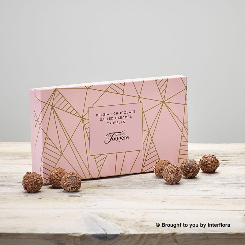 Salted Caramel Chocolate Truffles Box of 12